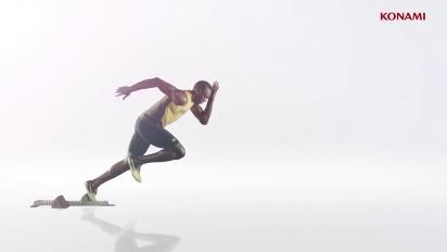 PES 2018 - Usain Bolt Reveal Trailer