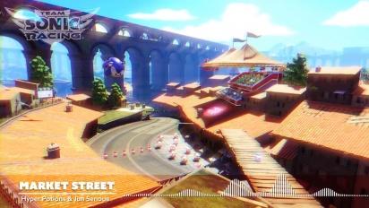 Team Sonic Racing - Market Street OST Trailer