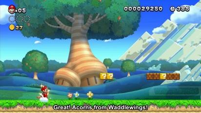 New Super Mario Bros. U - Developer Discussion WiiU