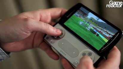 Xperia Play - FIFA 10 gameplay