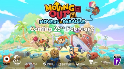 Moving Out - Movers in Paradise Release Date Trailer