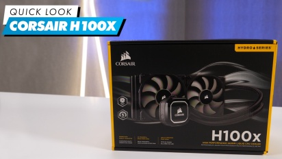 Corsair H100x - Quick Look