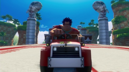 Sonic & All-Stars Racing Transformed - Wreck It Ralph Trailer