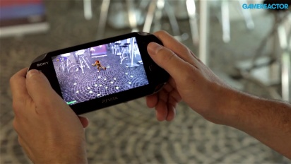 Invizimals: The Alliance - PS Vita Augmented Reality gameplay demo