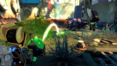 Ratchet & Clank: Into the Nexus - Announce Trailer