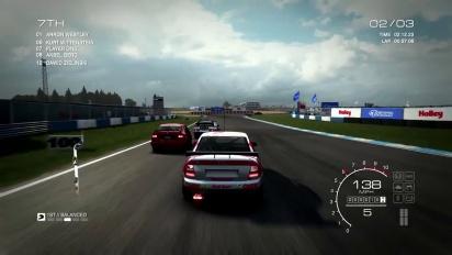 Grid: Autosport - Touring Car Legends Gameplay Trailer
