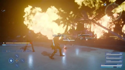 Final Fantasy XV - Niflheim Batte Footage Trailer