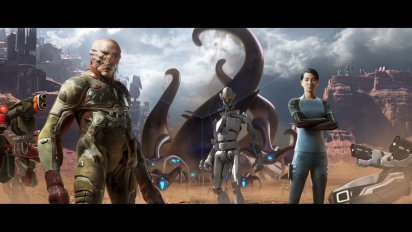 Grey Goo - Descent of the Shroud Reveal Trailer
