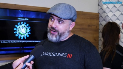 Darksiders III - Richard Vorodi Interview