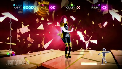 Just Dance 4 - Gossip - Heavy Cross DLC Gameplay Trailer