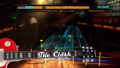 Rocksmith - The Clash DLC Trailer