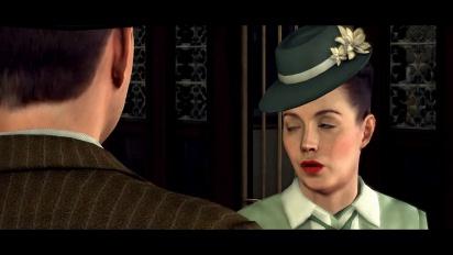 L.A. Noire - Slip of the Tongue Trailer