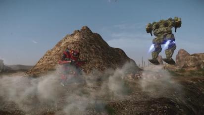 Mechwarrior Online - Protector Hero Mech Trailer