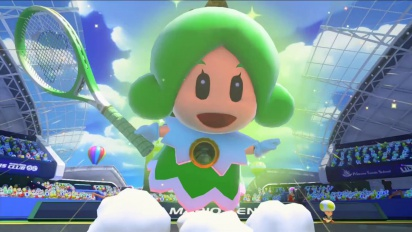 Mario Tennis: Ultra Smash - Sprixie Princess Gets on Court Trailer