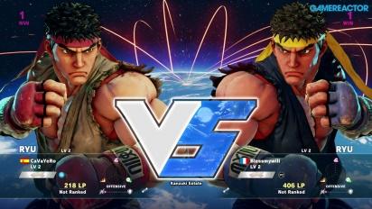 Street Fighter V - Beta Gameplay: Ryu vs. Ryu