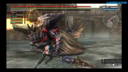 God Eater: Resurrection - Gameplay