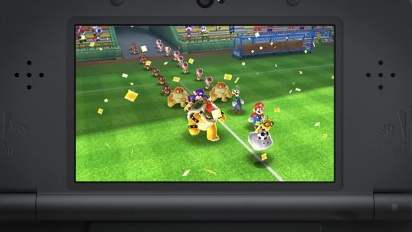 Mario Sports Superstars Going for goal trailer Nintendo 3DS