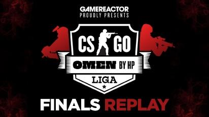 OMEN by HP Liga - CS:GO league Season 2 Finals - Livestream Replay