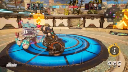 Bleeding Edge - Gameplay Match 3