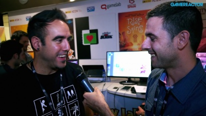 Rise & Shine -Enrique Corts Gamelab 2014 Interview