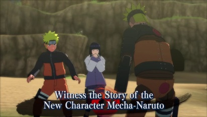 Naruto Shippuden: Ultimate Ninja Storm Revolution - Japan Expo Trailer