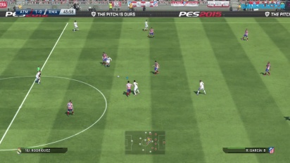 PES 2015 Gameplay - Atlético de Madrid vs. Real Madrid Full Match