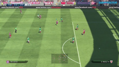 PES 2015 Gameplay - Bayern Munich vs. Athletic Club Bilbao Full Match