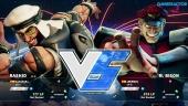 Street Fighter V - Beta Gameplay: Rashid vs. M. Bison