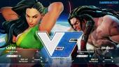 Street Fighter V - Beta Gameplay: Laura vs. Necalli
