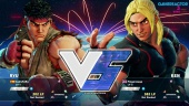 Street Fighter V - Beta Gameplay: Ryu vs. Ken
