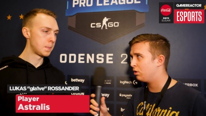 ESL Pro League Finals - Gla1ve Interview