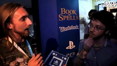 E3 12: Wonderbook: Book of Spells - Interview