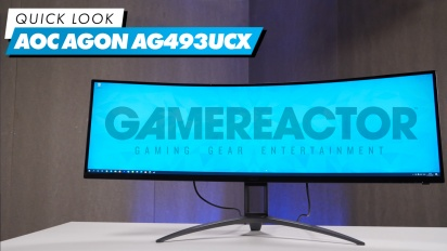 AOC Agon AG493UCX - Quick Look