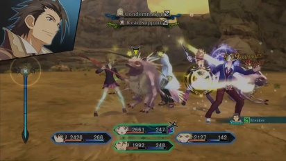 Tales of Xillia - School Uniform DLC Content Trailer