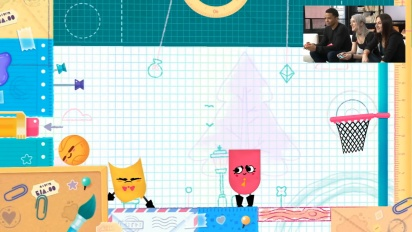 Snipperclips: Cut it out, together! - Nintendo Treehouse Gameplay Demo