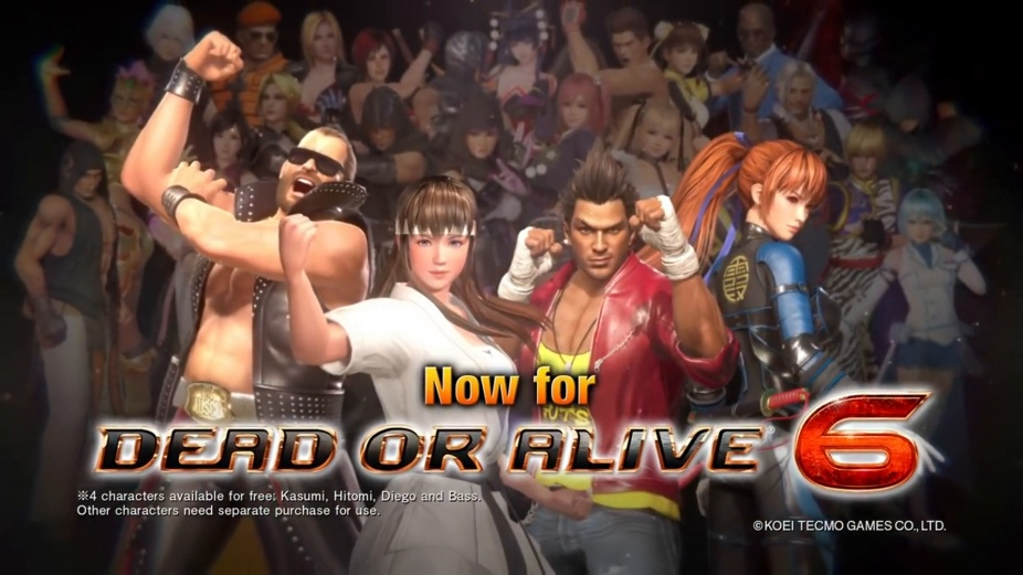 Dead or Alive 6 goes free-to-play with Core Fighters