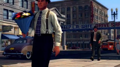 L.A.Noire - Gameplay Trailer #3