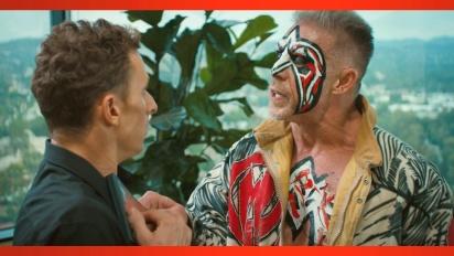 WWE 2K14 - Pre-order bonus - Ultimate Warrior visits the 2K offices
