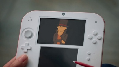 Professor Layton and the Azran Legacy - Live Action TV Ad