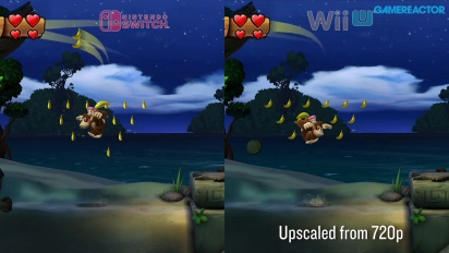 Donkey Kong Country: Tropical Freeze - Nintendo Switch vs Wii U Comparison III
