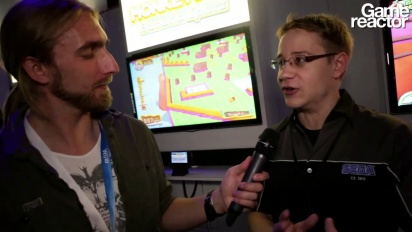 E3 12: Super Monkey Ball: Banana Splitz - Interview