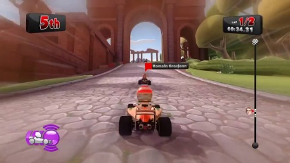 F1 Race Stars - Gameplay Trailer