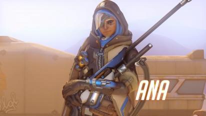Overwatch - Introducing Ana Gameplay Trailer