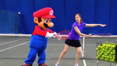Mario Tennis Open - Mario hits the court Trailer