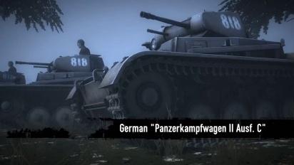 Heroes & Generals - 9 new Goddamned Tanks! Trailer