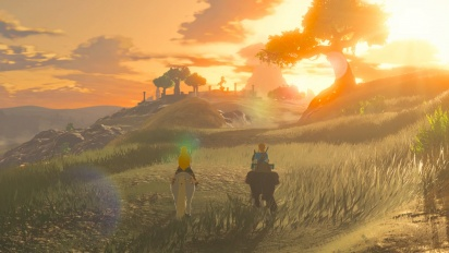 The Legend of Zelda: Breath of the Wild - Japanese Site 'Guard' Montage