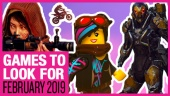 Games to Look For - February 2019