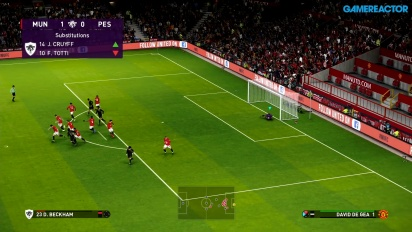 eFootball PES 2020 - Manchester United vs PES Legends Full Match Gameplay