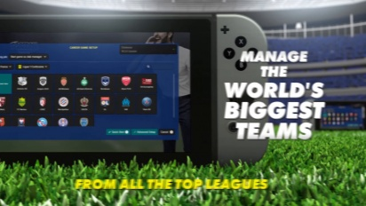 Football Manager Touch 2018 - Switch Trailer