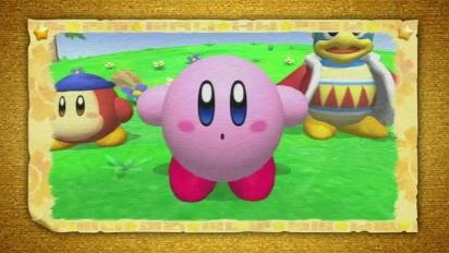 Kirby Wii - Trailer E3